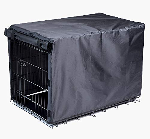 BH Dog Crate Cover for Large Dogs-Crate Cover for Wire Crates (48-inch) by BH (Image #1)