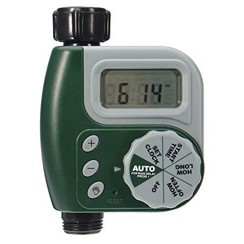 BBT-shop Hose Faucet Timer,Outdoor Garden Hose Sprinkler Irrigation Controller Solenoid Valve Timer