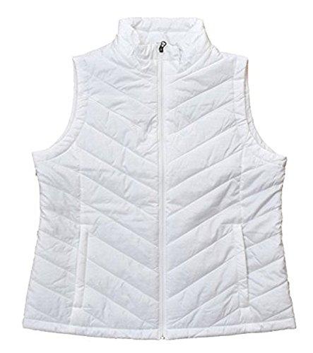 White Down Vests - 5