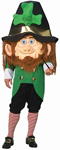 Mens 42-44 Leprechaun St Patricks Day Mascot Costume