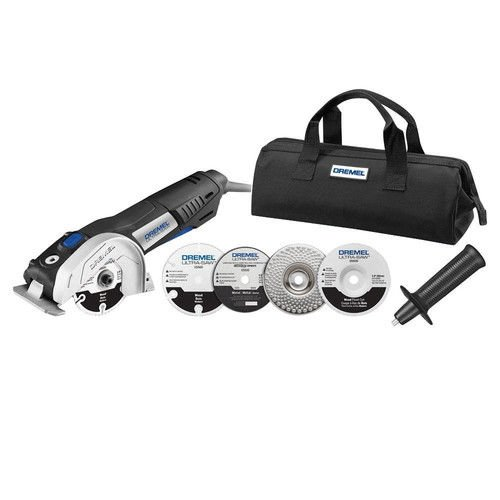 Dremel US40-01 Ultra-Saw Tool Kit with 4 Accessories and 1 Attachment - Edge Saw
