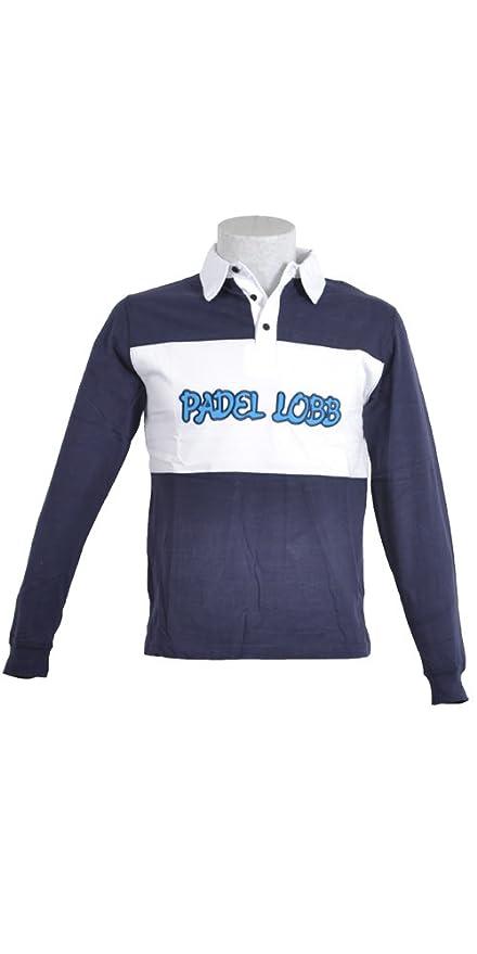 Padel Lobb - Polo banderas, talla l , color marino