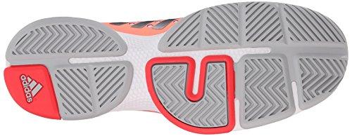 adidas Performance Women's Barricade Classic Bounce W Training Footwear,Sun Glow Yellow/Metallic Silver/Shock Red,9.5 M US by adidas (Image #3)