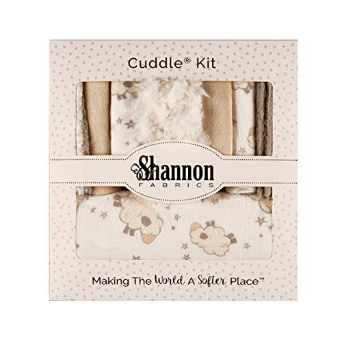 - Shannon Fabrics Shannon Minky Cuddle Wee One Kit Love Ewe