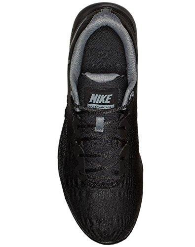 002 Black Grey Noir Cool NIKE 2 Advantage Air Basses WMNS Max Femme Sneakers WwBPUBz7xq