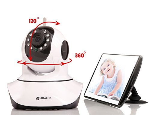 Baby Monitor & Wireless Wi-Fi IP Camera By Shragis. BONUS: Phone Stand