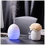 WitMoving Desk Humidifier Mini Humidifier USB humidifier 200ML Auto-Off Protection Colorful Night Lights Whisper Quiet Humidifiers Bedroom Office Yoga
