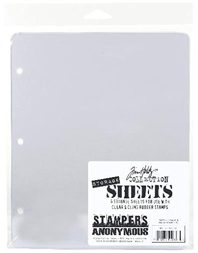 Stampers Anonymous THSTOR Tim Holtz Storage Sheets, -
