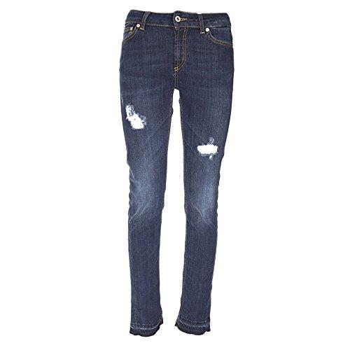DONDUP Femme P990DS112DR01T800 Bleu Coton Jeans