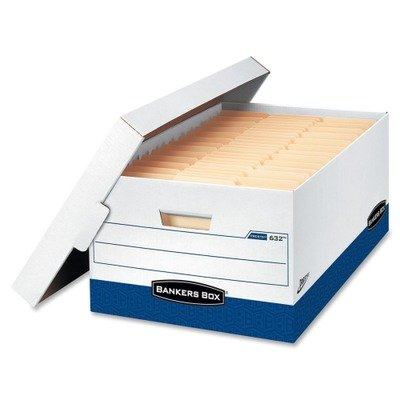 Bankers box fel0063201 presto™ storage boxes