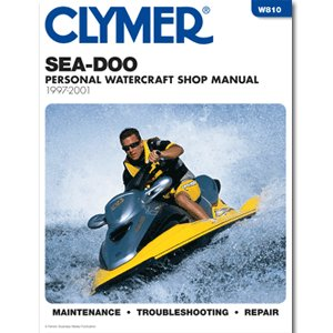 CLYMER SEA-DOO PERSONAL WATERCRAFT 1997-2001 ''Prod. Type: Boat Outfitting'' by OEM