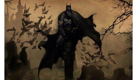 (HiddenSupplies.com Batman Dark Knight Mat Play Mat)