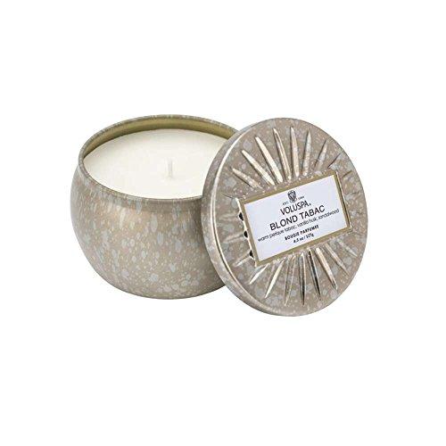 Boxed Fragrance - Voluspa Blond Tabac Decorative Mini Tin