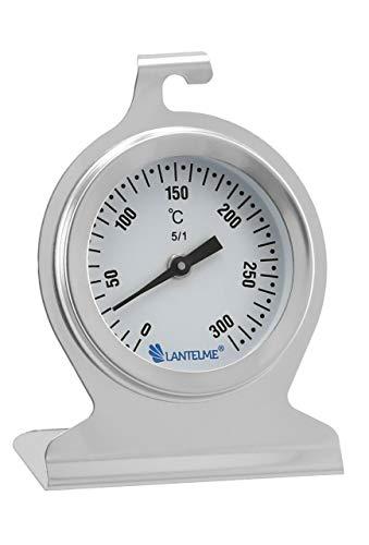 Lantelme TERMOMETRO DA FORNO 300°C IN ACCIAIO INOX CON INDICATORE ANALOGICO 5843 1