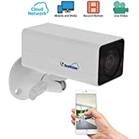GeoVision GV-UBXC1301 720P Network Box Cloud Security Camera with 8GB SD Memory Card