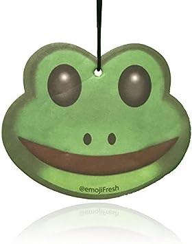 Amazon.com: emojifresh rana Emoji ambientador para coche ...