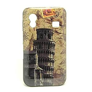 Nsaneoo - The Leaning Tower of Pisa Pattern Hard Case Cover for Samsung S5830 Galaxy Ace