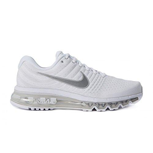Nike Air Max 2017 GS - Scarpa Running, Sneakers, Bianco, 40 eu