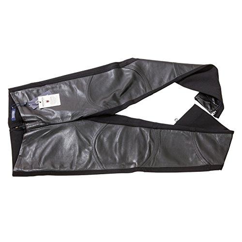 Wwpan1209 Nero Woolrich Skinny Leather Donna Pantalone FXzSqY