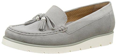 Gabor Shoes Fashion, Mocasines para Mujer Gris (Gris 19)
