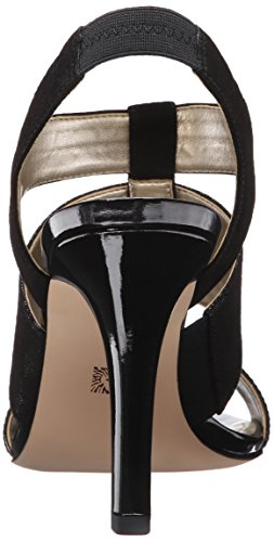 Anne Klein Mujeres Izalia Dress Sandal Black Multi