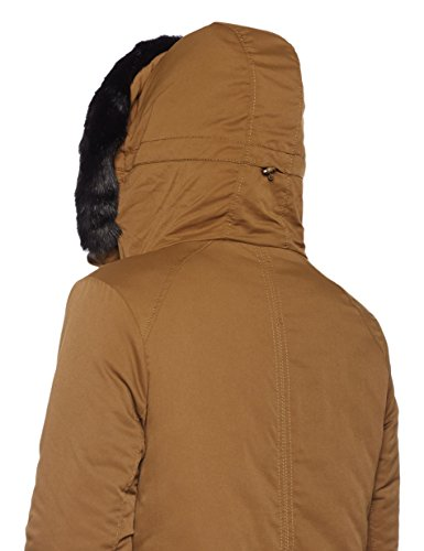 Bench Chaqueta Brown Mujer Long Parka Dark Marrón para gw7grUCq