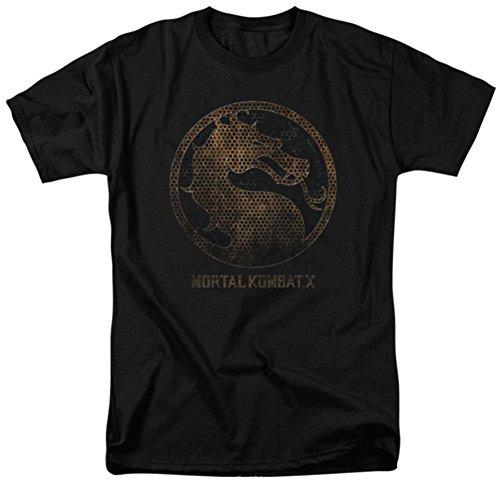 Mortal Kombat X - Metal Seal T-Shirt Size L for $<!--$13.00-->