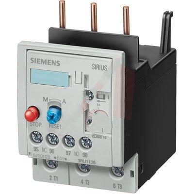 Siemens 3RU1136-4FB0 , OVERLOAD, IEC, S2, CL10, 28 - 40A, SCREW