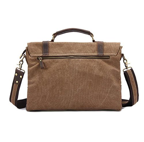 Mens Bolsa Grey Bag Retro Viaje De Hombro Bolsa Messenger Bolso Simple P77Hq