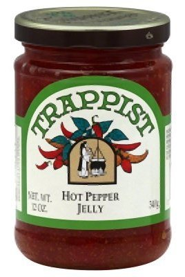 Trappist Hot Pepper Jelly - All Natural 12 oz.