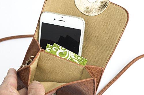 smartphone multi per Crossbody Tan tasca Borsa OfxntwTqtd