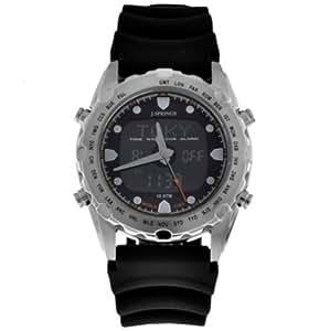 J Springs BAM003 - Reloj de caballero, correa de goma