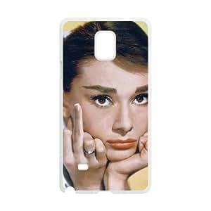 C-Y-F- Audrey Hepburn Phone Case For Samsung Galaxy note 4 [Pattern-2]