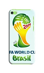 World Cup 2014 Case for Iphone 5c Football Cup Iphone 5c Case