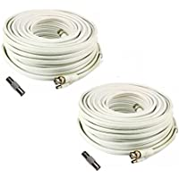 (2) 200 Foot Security Camera Cable for Samsung SDS-P5122, SDS-P5102