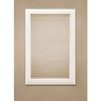 Home decorators collection sahara fabric blackout cordless cellular shade 23x72