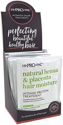 Hi-Pro-Pac Pks Henna Placenta Vitamin-E Intense 1.75 Ounce(12 Pieces) (51ml)