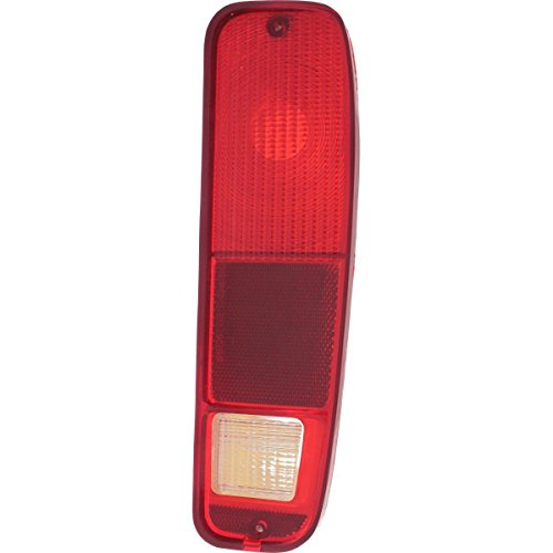 DAT 73-79 FORD F-SERIES 75-91 FORD ECONOLINE VAN TAIL LAMP LENS AND HOUSING RIGHT PASSENGER SIDE FO2801101 ()
