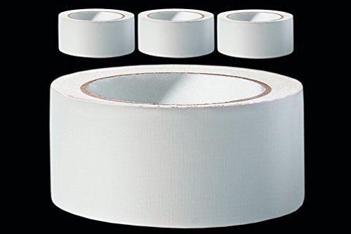 3 x PVC Schutzband 50 mm PROFI Putzerband 33 m weiss gerillt Putzband Kunststoff Bautenschutz Putzer Klebeband Putz Abdeckband