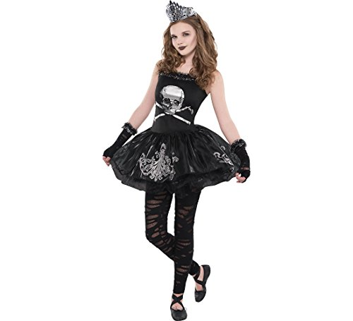 AMSCAN Zomberina Halloween Costume for Girls, Extra Large, with Included Accessories