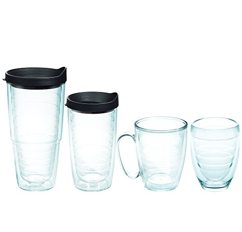 Tervis Tumblers 6-Piece Starter Pack, Clear