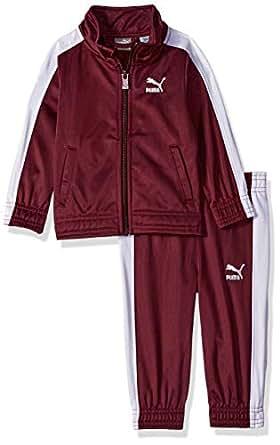 PUMA Baby-Boys Boys' Tricot Pant Set Pants Set - Purple - 12M