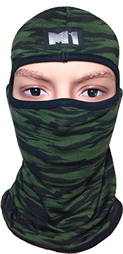 Skiing Winter Warm Stocking Cap Knit Face Mask - 5