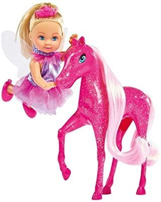 Simba 105738667001 Evi Love Little Fairy /& Pony Pretend Play