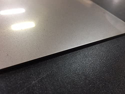"""304ss 1//4/"""" x 12/"""" x 12/"""" Stainless Square Plate"""