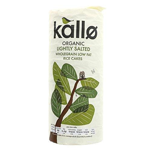 (6 PACK) - Kallo Organic Lightly Salted Rice Cakes| 130 g |6 PACK - SUPER SAVER - SAVE MONEY