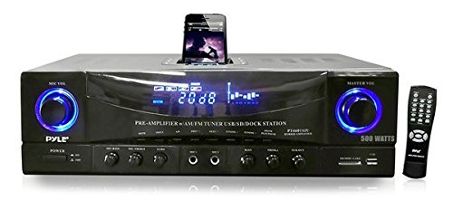 Pyle PT4601AIU Receiver Docking Subwoofer