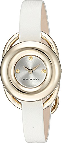 Marc Jacobs Women's Jerrie White Leather Watch - MJ1446