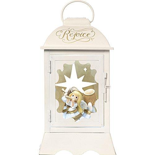 Precious Moments Rejoice Angelic Lantern LED Lighted Musical Resin/Metal Rotating Angel Lantern ()