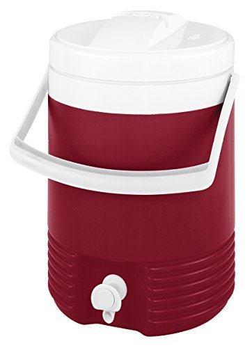Igloo Legend Beverage Cooler (Red, 2-Gallon) by Igloo